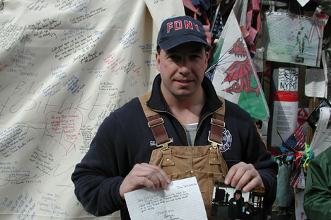 new york firefighter post 9-11