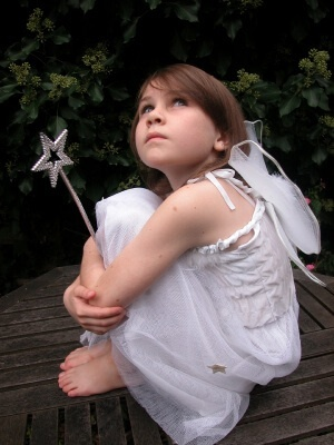 girl fairy w/wand